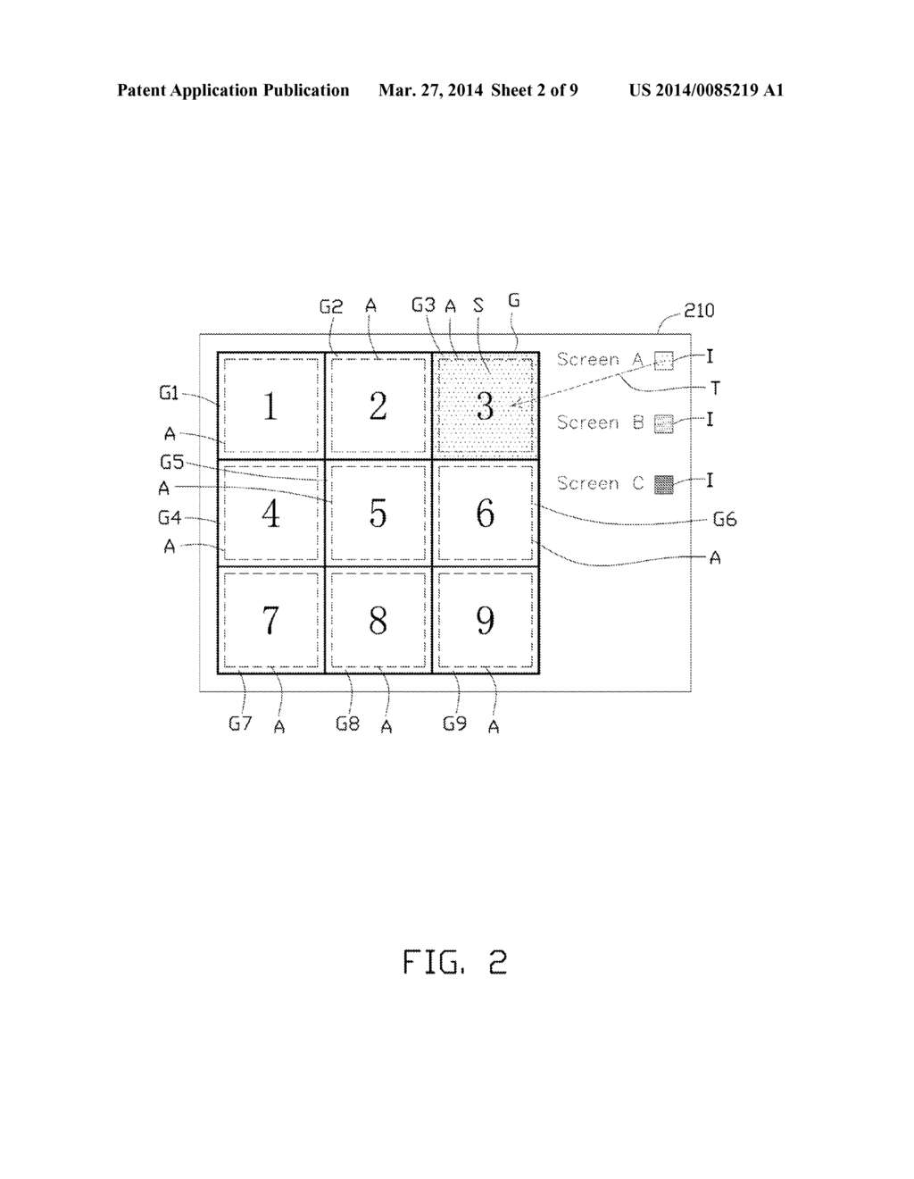 CONTROLLING DISPLAY DEVICE WITH DISPLAY PORTIONS THROUGH TOUCH-SENSITIVE     DISPLAY - diagram, schematic, and image 03