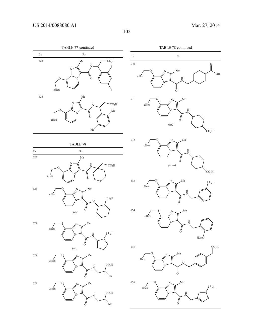 IMIDAZOPYRIDINE COMPOUNDS - diagram, schematic, and image 103