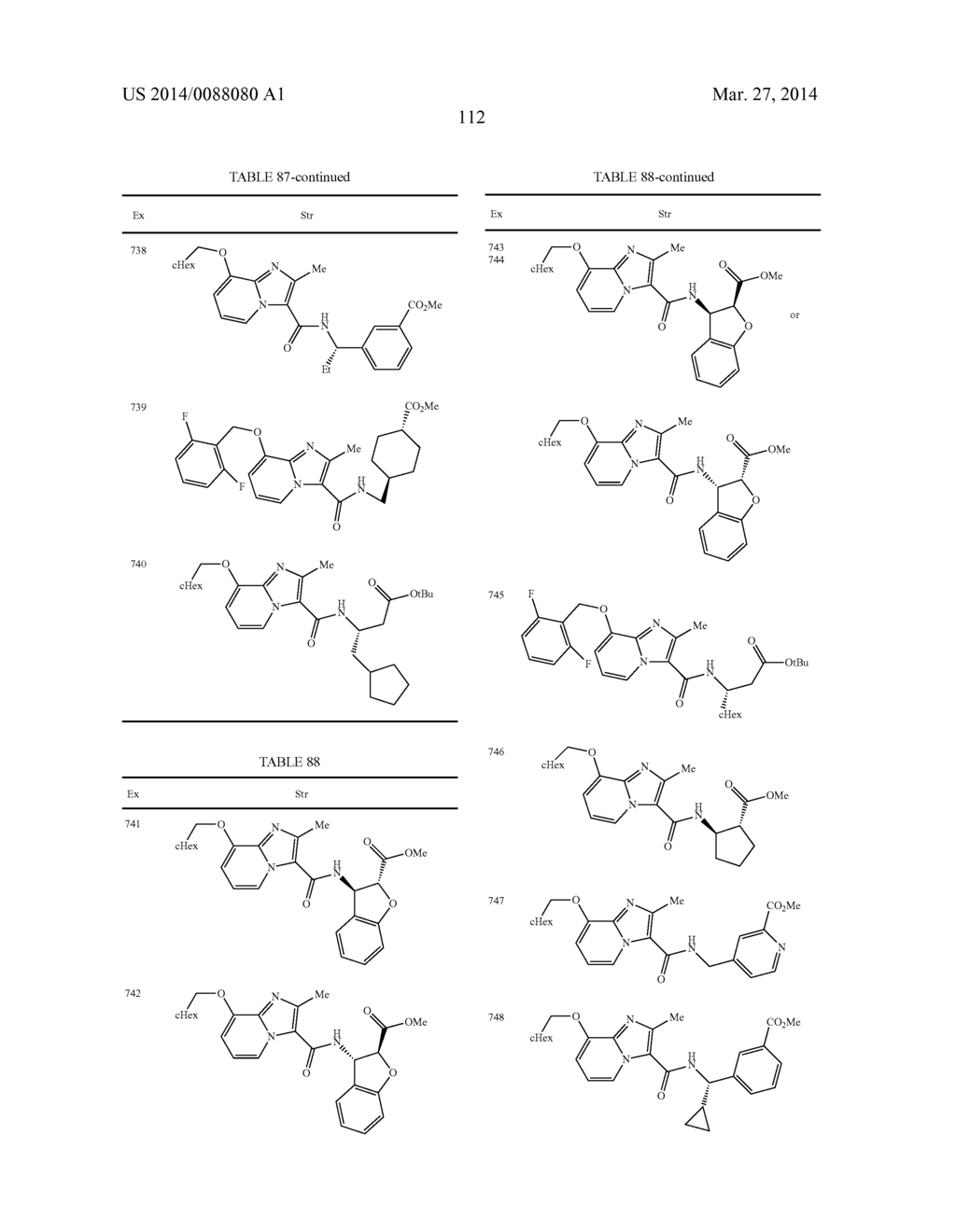 IMIDAZOPYRIDINE COMPOUNDS - diagram, schematic, and image 113