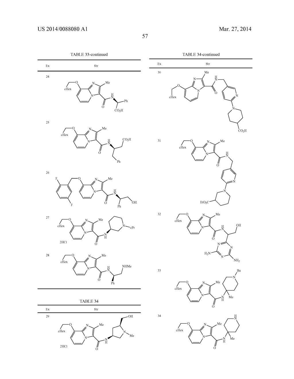 IMIDAZOPYRIDINE COMPOUNDS - diagram, schematic, and image 58