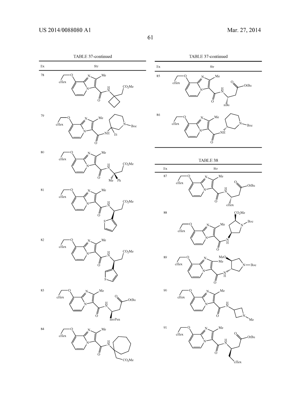 IMIDAZOPYRIDINE COMPOUNDS - diagram, schematic, and image 62