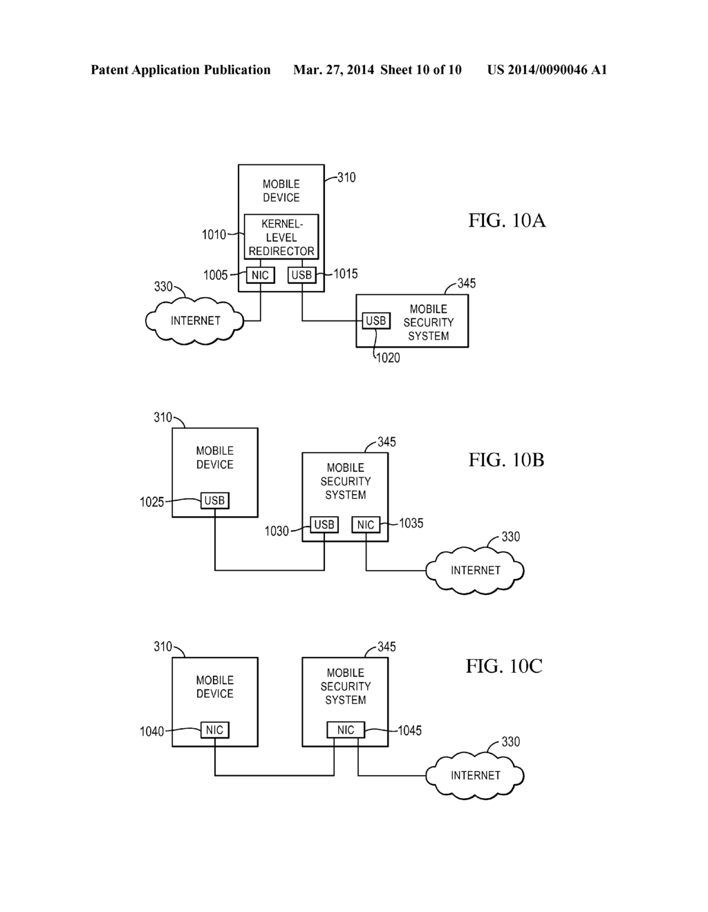 SYSTEM AND METHOD FOR PROVIDING NETWORK SECURITY TO MOBILE DEVICES - diagram, schematic, and image 11