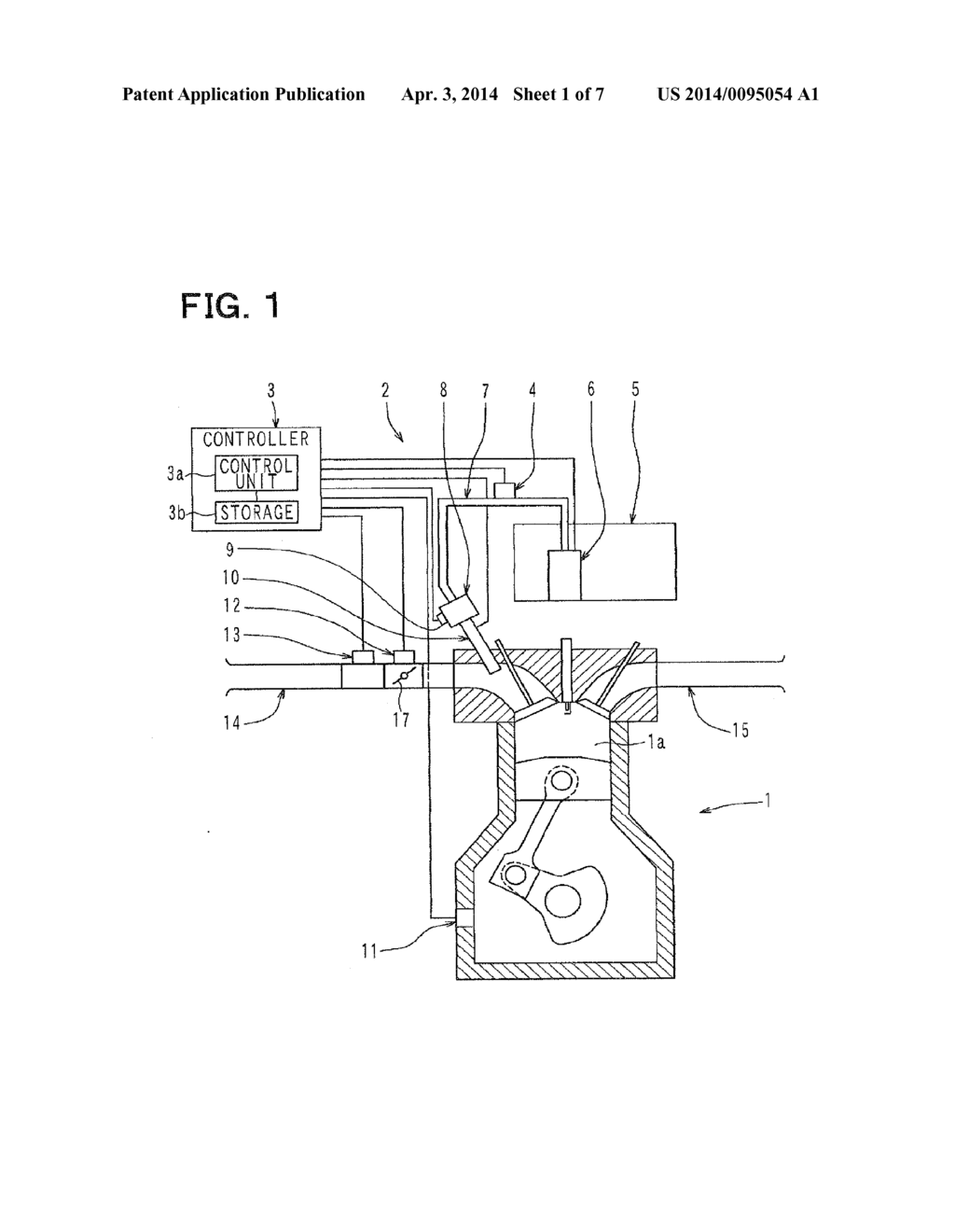 Fuel Supply System For Internal Combustion Engine Diagram Schematic And Image 02