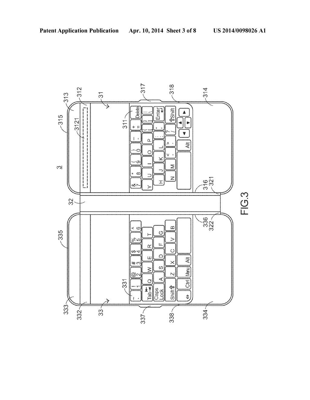 KEYBOARD DEVICE FOR SMALL SIZE TABLET PERSONAL COMPUTER - diagram, schematic, and image 04