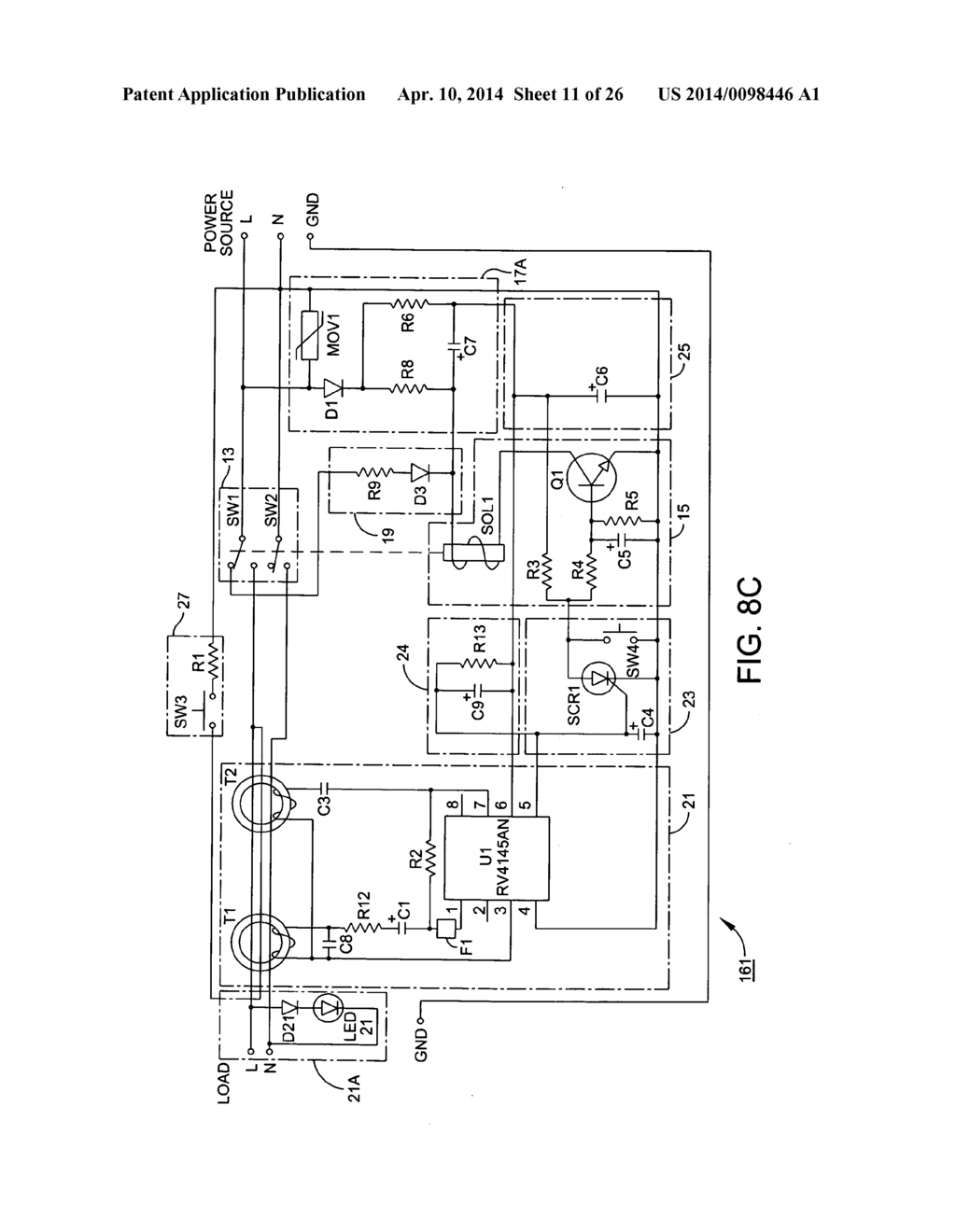 Universal Ground Fault Interrupter Gfci Device And Printed Circuit Board Package Diagram Schematic Image 12