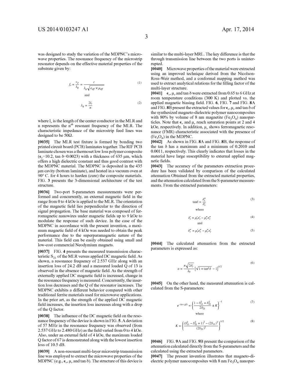 Magneto-Dielectric Polymer Nanocomposites and Method of Making - diagram, schematic, and image 20