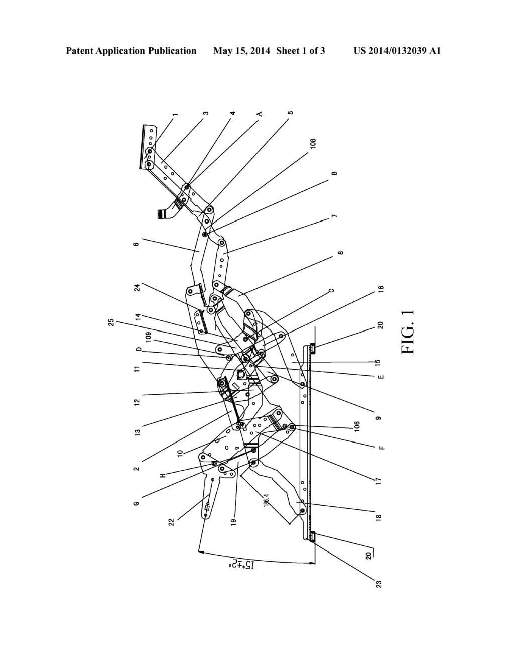 Outstanding Reclining Lift Chair Frame With Scissor Mechanisms Diagram Machost Co Dining Chair Design Ideas Machostcouk