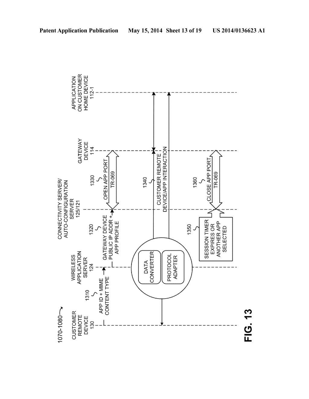 REMOTE ACCESS TO A CUSTOMER HOME NETWORK - diagram, schematic, and image 14