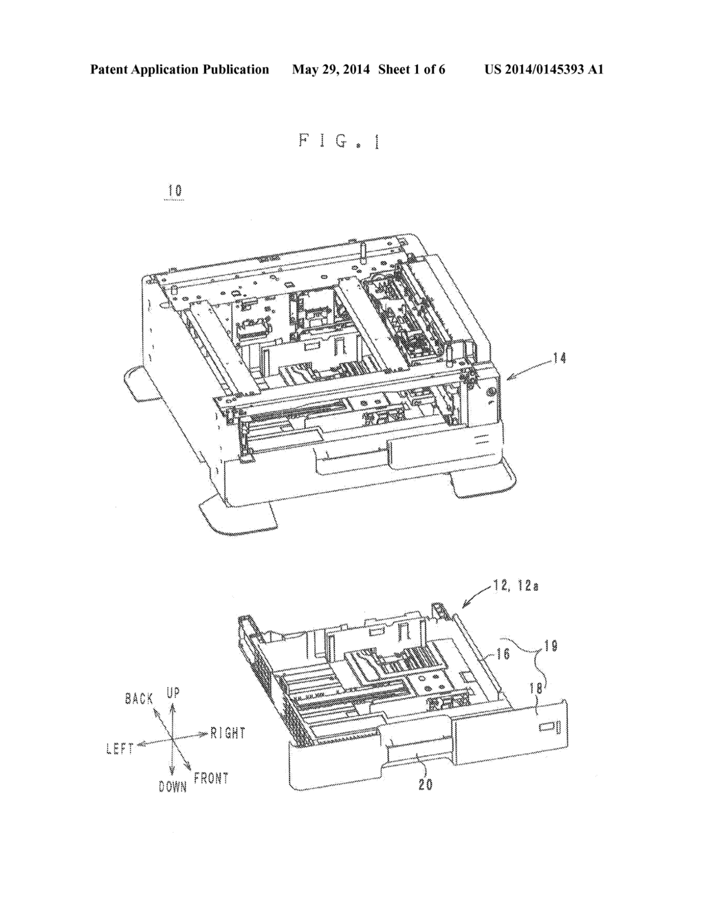 TRAY AND AN IMAGE FORMING APPARATUS PROVIDED WITH THE TRAY - diagram, schematic, and image 02