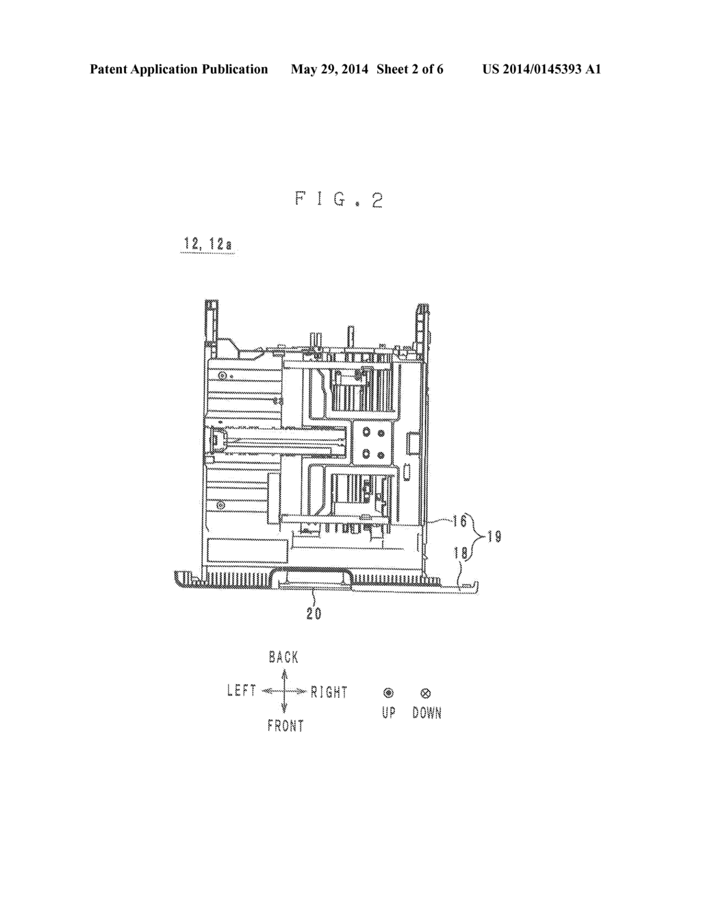 TRAY AND AN IMAGE FORMING APPARATUS PROVIDED WITH THE TRAY - diagram, schematic, and image 03
