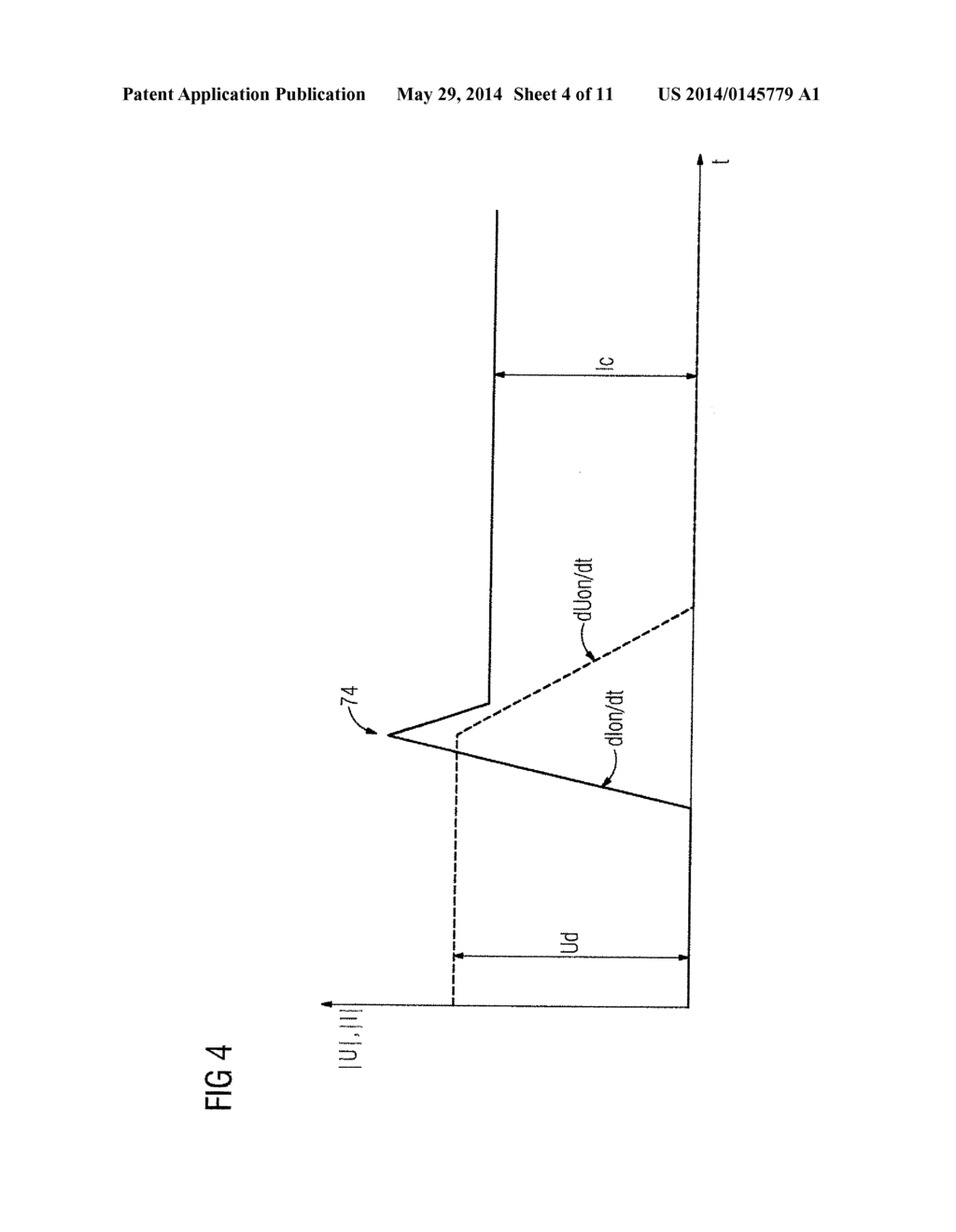 CIRCUIT ARRANGEMENT FOR SWITCHING A CURRENT, AND METHOD FOR ...