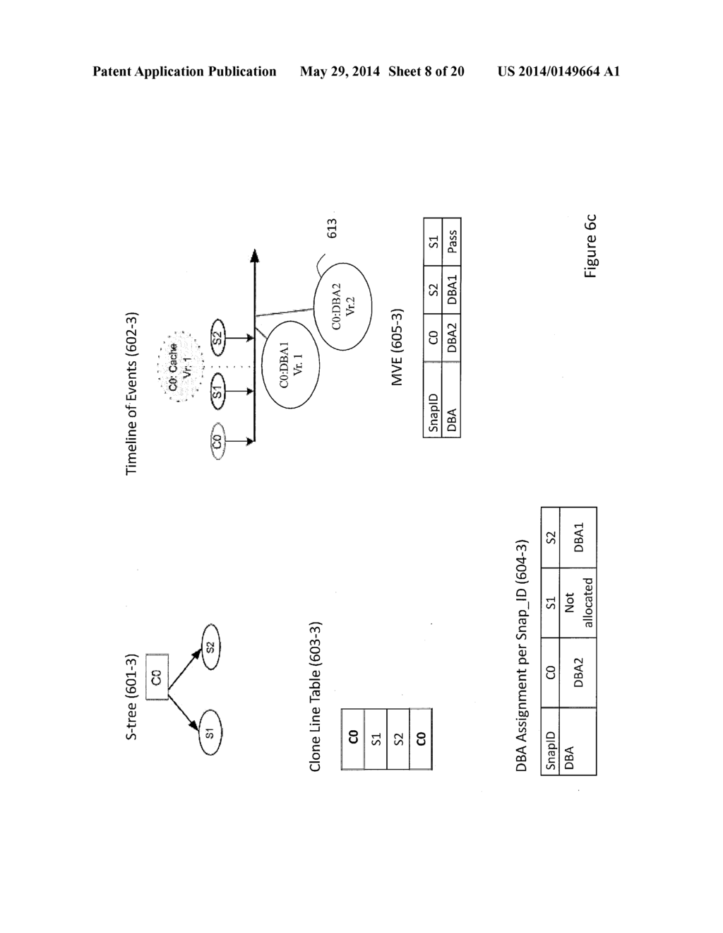 Storage System Capable of Managing a Plurality of Snapshot Families and     Method of Operating Thereof - diagram, schematic, and image 09