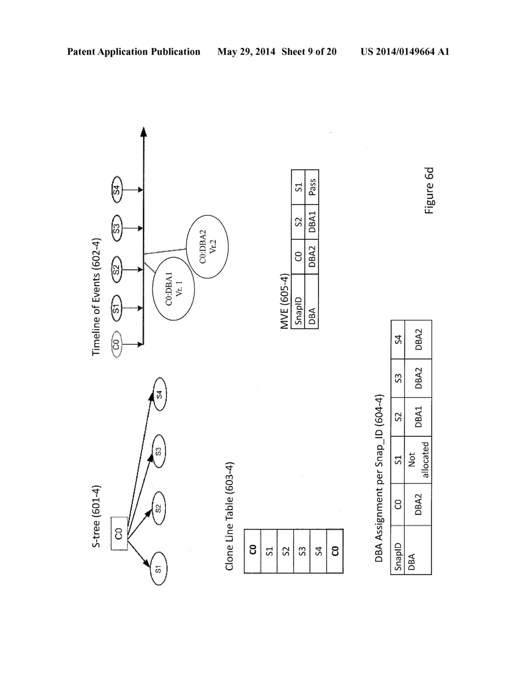 Storage System Capable of Managing a Plurality of Snapshot Families and     Method of Operating Thereof - diagram, schematic, and image 10