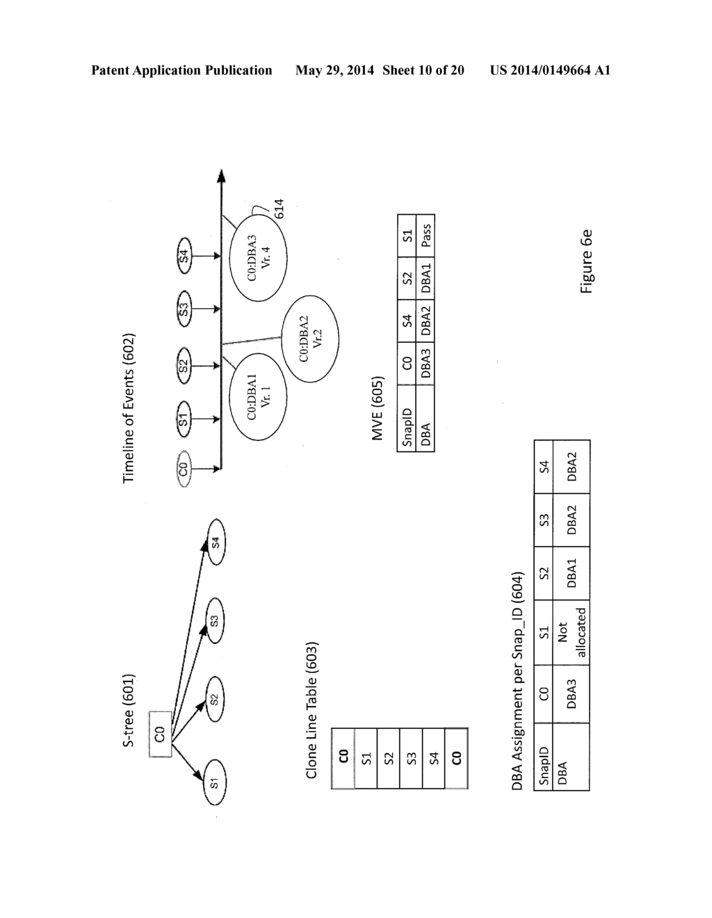 Storage System Capable of Managing a Plurality of Snapshot Families and     Method of Operating Thereof - diagram, schematic, and image 11