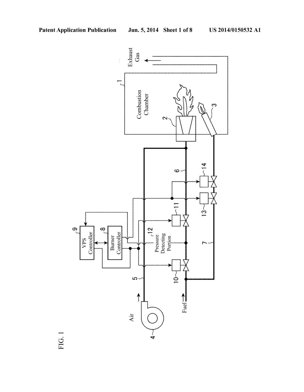 VALVE LEAK DETECTING METHOD AND COMBUSTION EQUIPMENT - diagram, schematic, and image 02