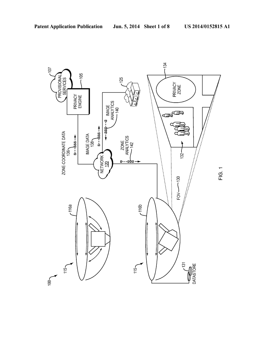 Window Blanking for Pan/Tilt/Zoom Camera - diagram, schematic, and ...