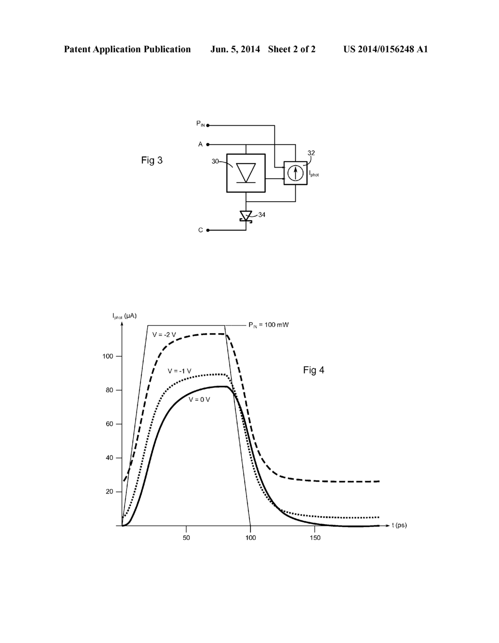 TRANSIENT SIMULATION METHOD FOR A PHOTODIODE - diagram, schematic, and image 03