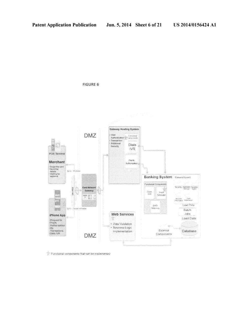 Credit card point of service payment authorization system - diagram, schematic, and image 07