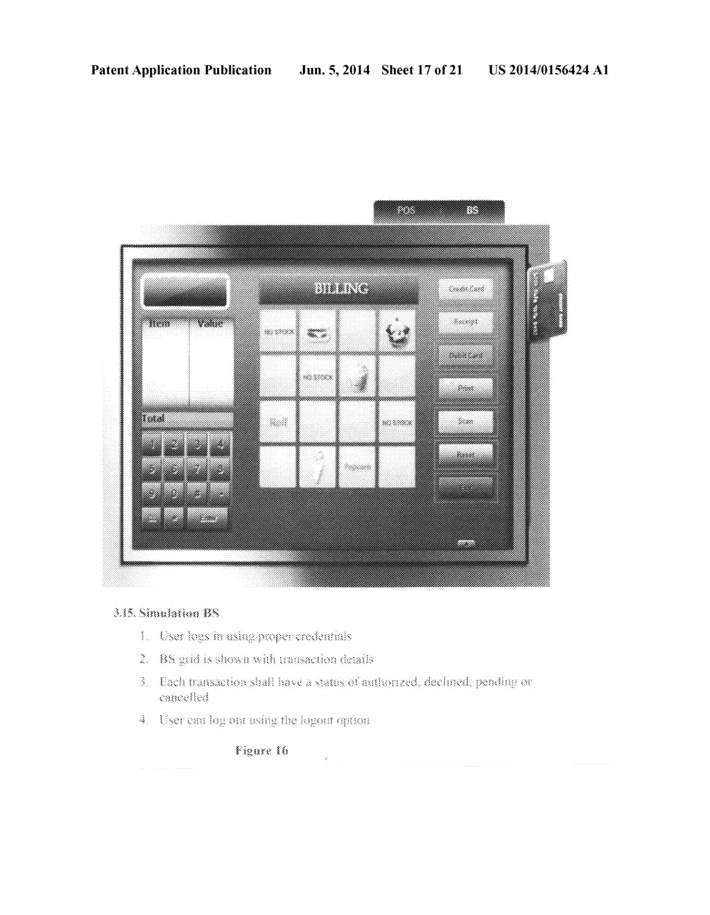 Credit card point of service payment authorization system - diagram, schematic, and image 18