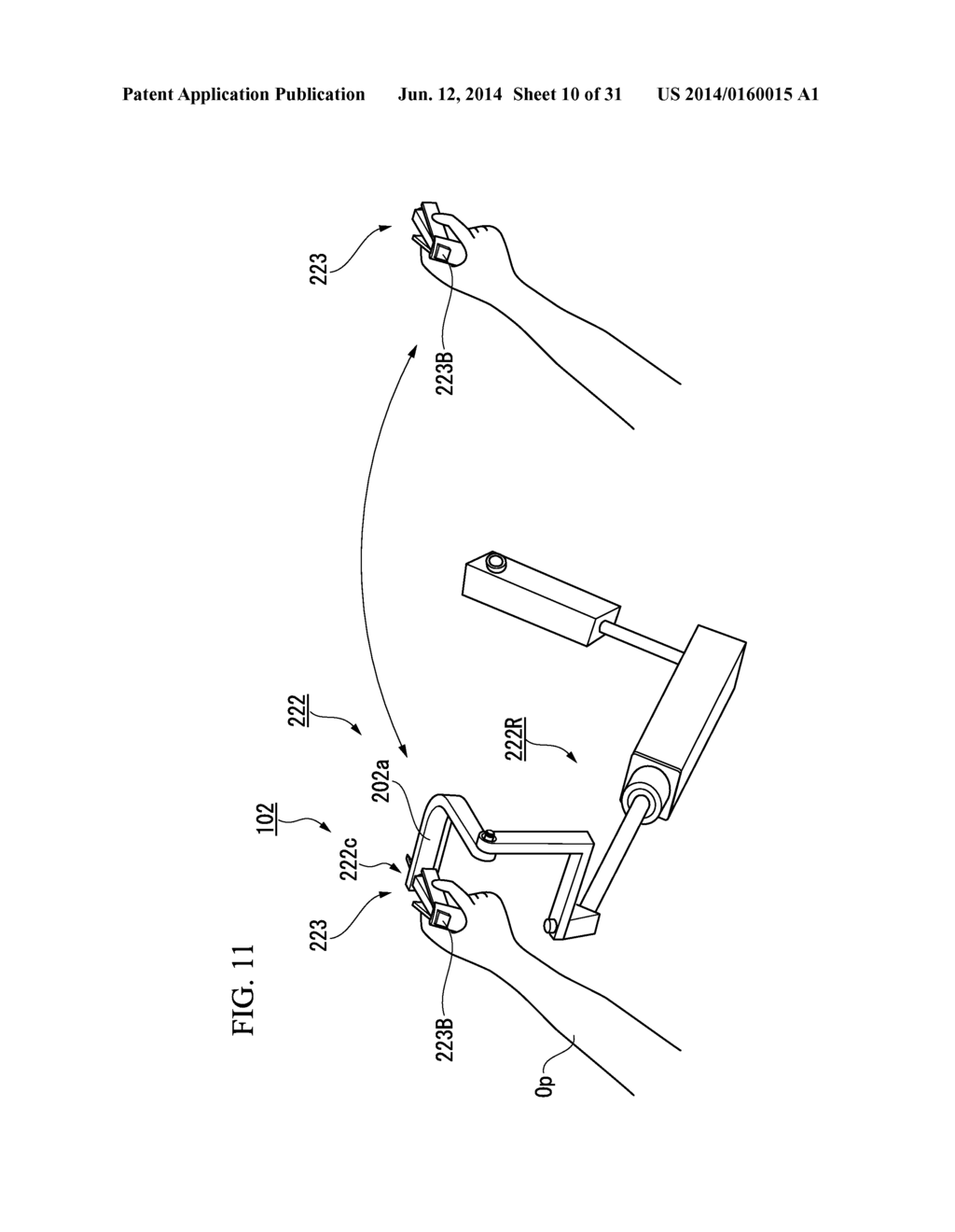 MANIPULATION INPUT DEVICE AND MANIPULATOR SYSTEM HAVING THE SAME - diagram, schematic, and image 11