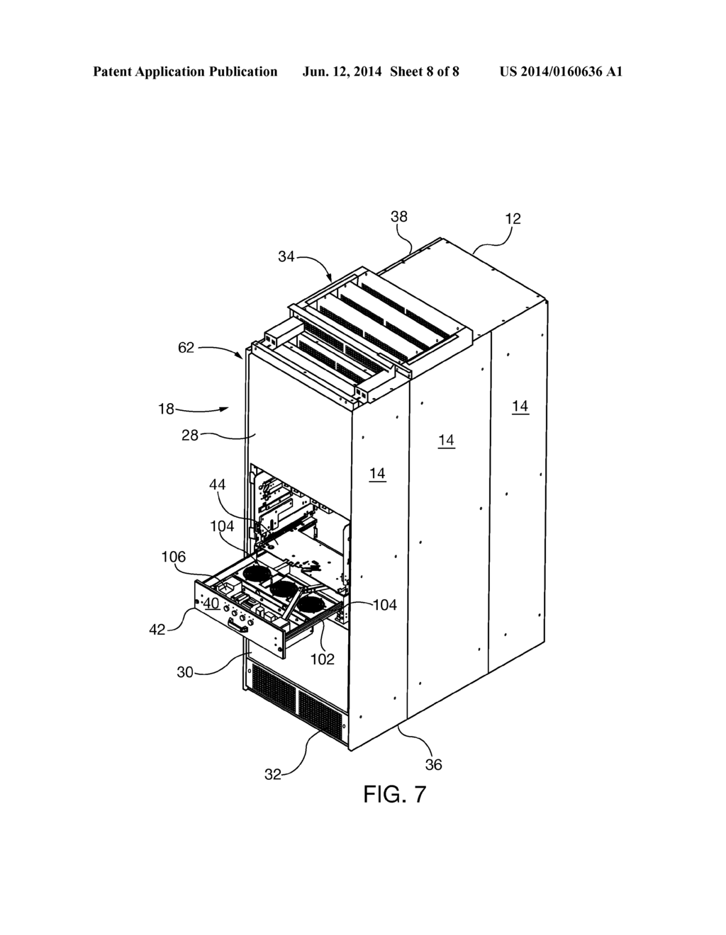 MODULAR DRAW OUT FAN MODULE WITH CHIMNEY DESIGN FOR COOLING ...