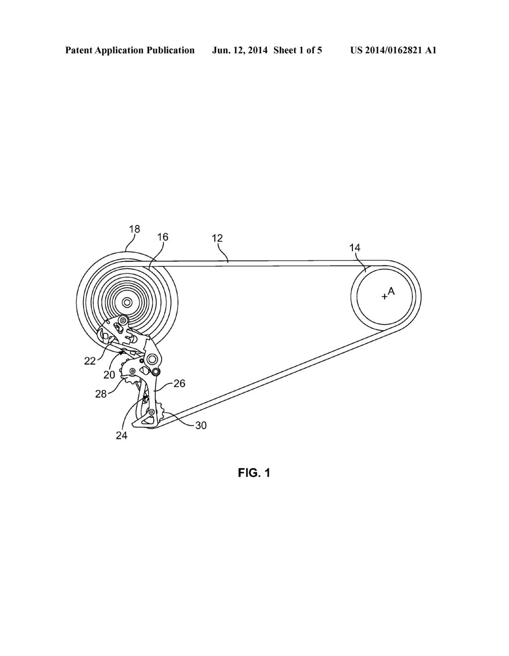 Jockey Wheel for a Rear Derailleur in a Bicycle Gear System ... on