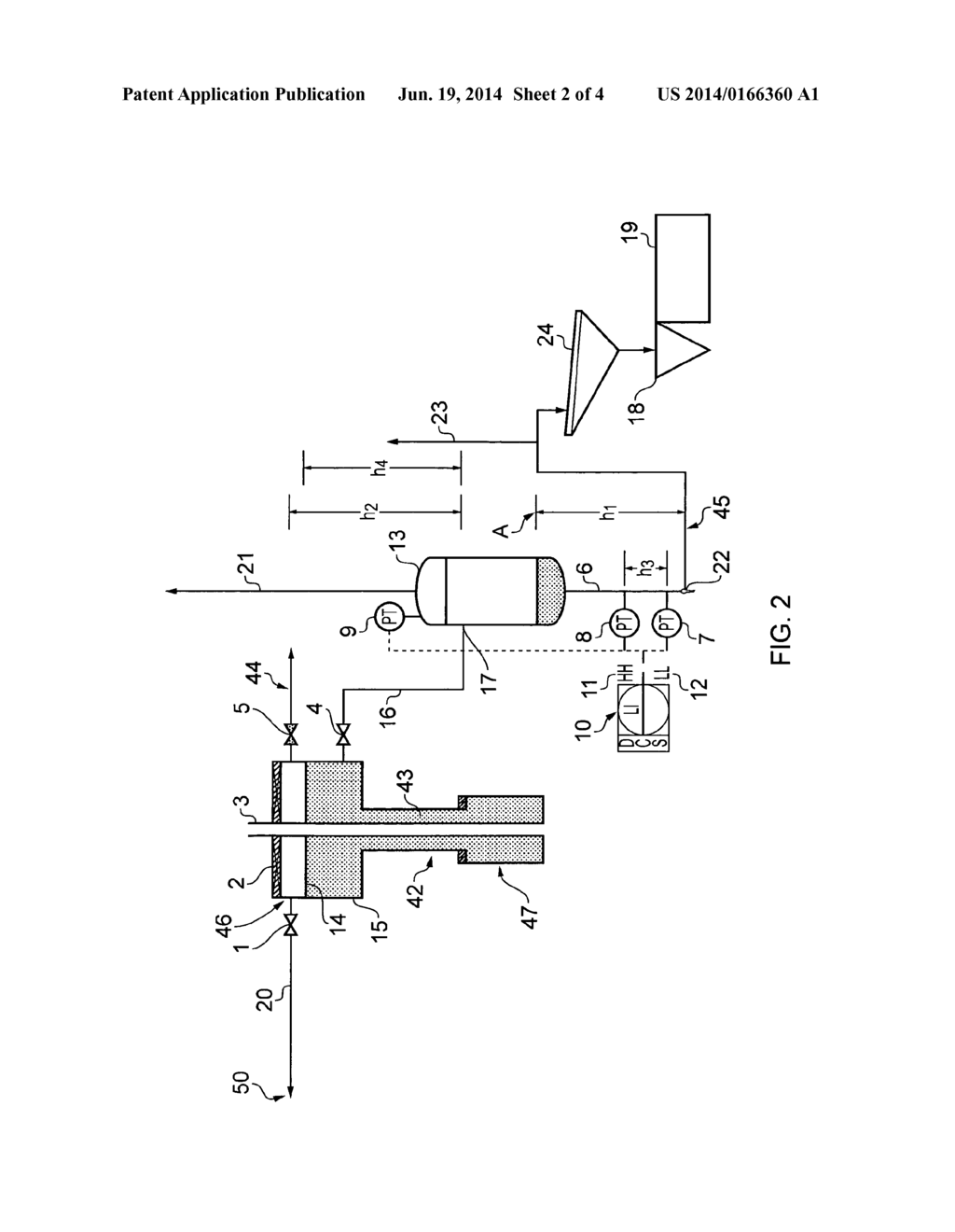 FLUID DIVERTER SYSTEM FOR A DRILLING FACILITY - diagram, schematic, and  image 03