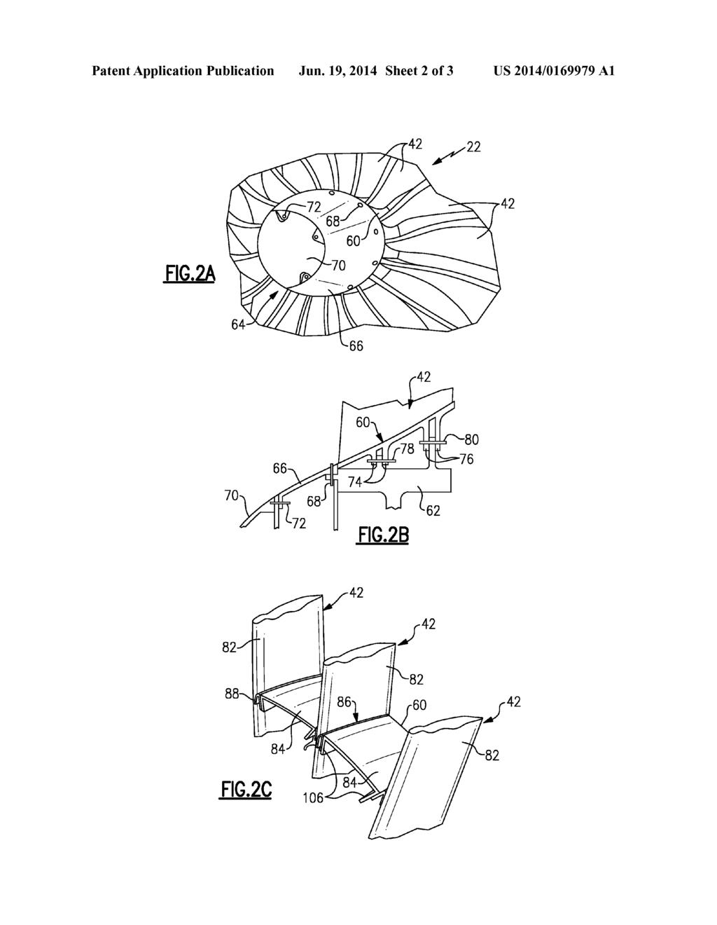 gas turbine engine fan blade platform seal - diagram, schematic, and image  03