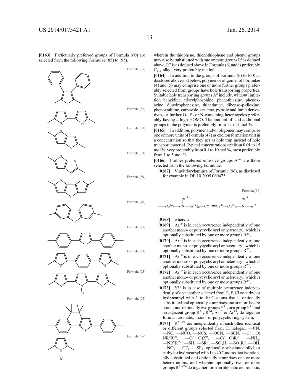 POLYMERS AND OLIGOMERS WITH FUNCTIONALIZED SIDE GROUPS - diagram, schematic, and image 14