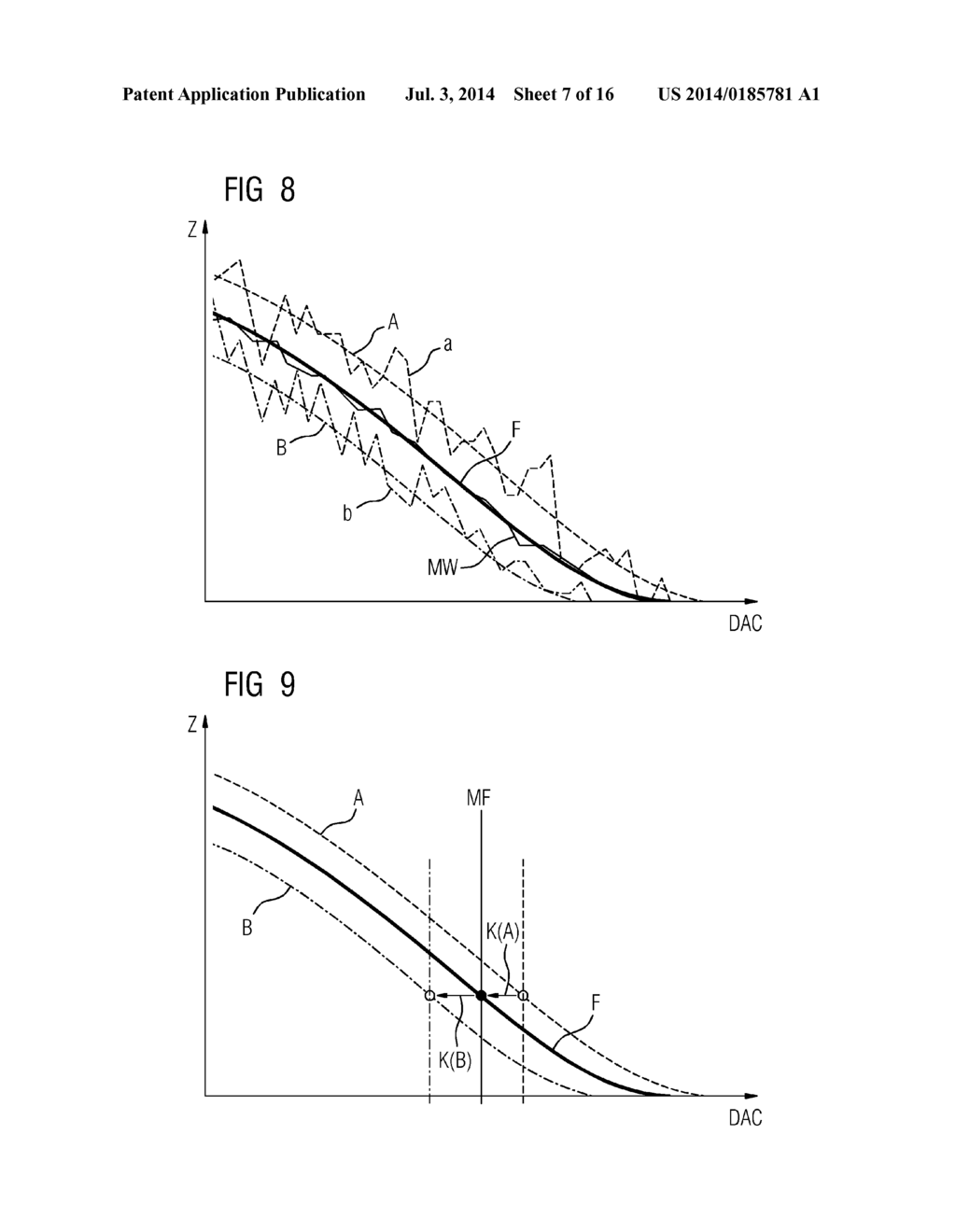 Method for Calibrating a Counting Digital X-Ray Detector, X-Ray System for     Performing Such a Method and Method for Acquiring an X-Ray Image - diagram, schematic, and image 08