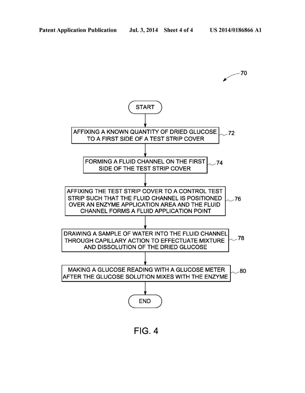 glucose control test strip diagram, schematic, and image 05 Strip Diagram Fill In