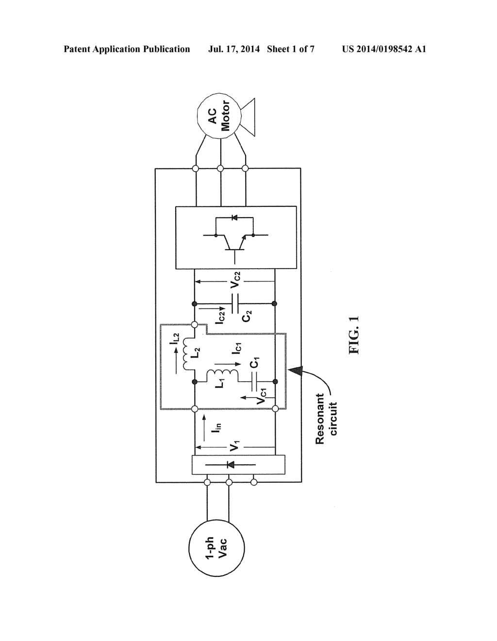 SINGLE-PHASE ACTIVE FRONT END RECTIFIER SYSTEM FOR USE WITH THREE
