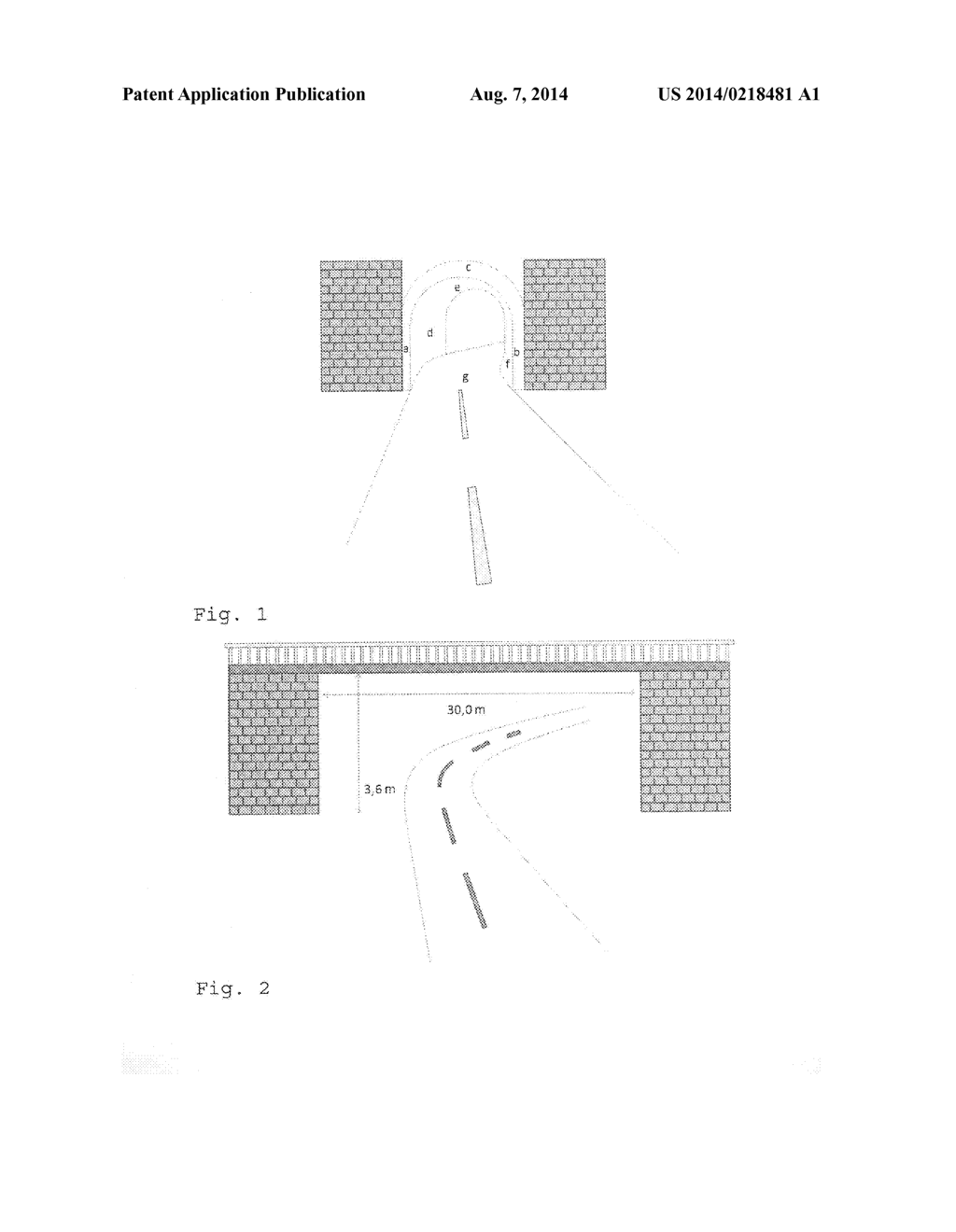 Method for Determining Whether a Vehicle can Pass Through an Object by     Means of a 3-D Camera - diagram, schematic, and image 02