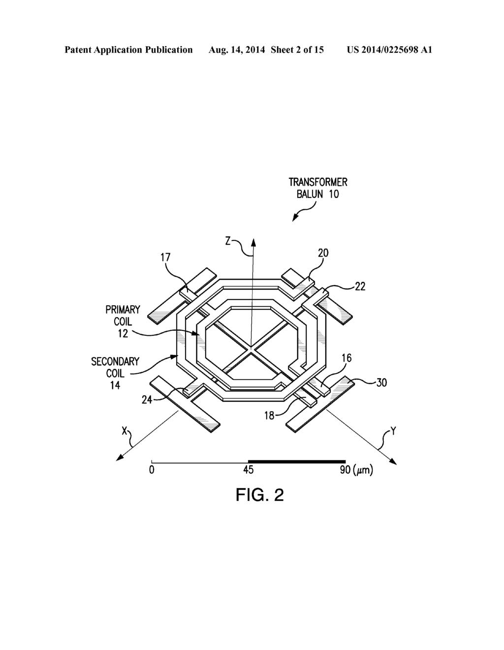 INTEGRATED TRANSFORMER BALUN WITH ENHANCED COMMON-MODE REJECTION FOR