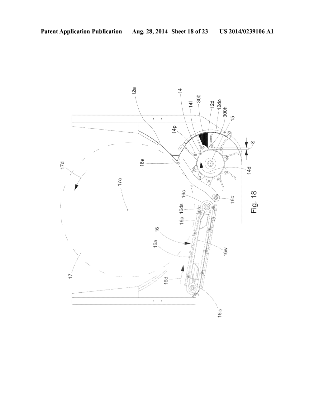 method and apparatus for preventing buildup of twine and netwrap on Round Baler Net Wrap method and apparatus for preventing buildup of twine and netwrap on the rotor of a bale processor diagram schematic and image 19