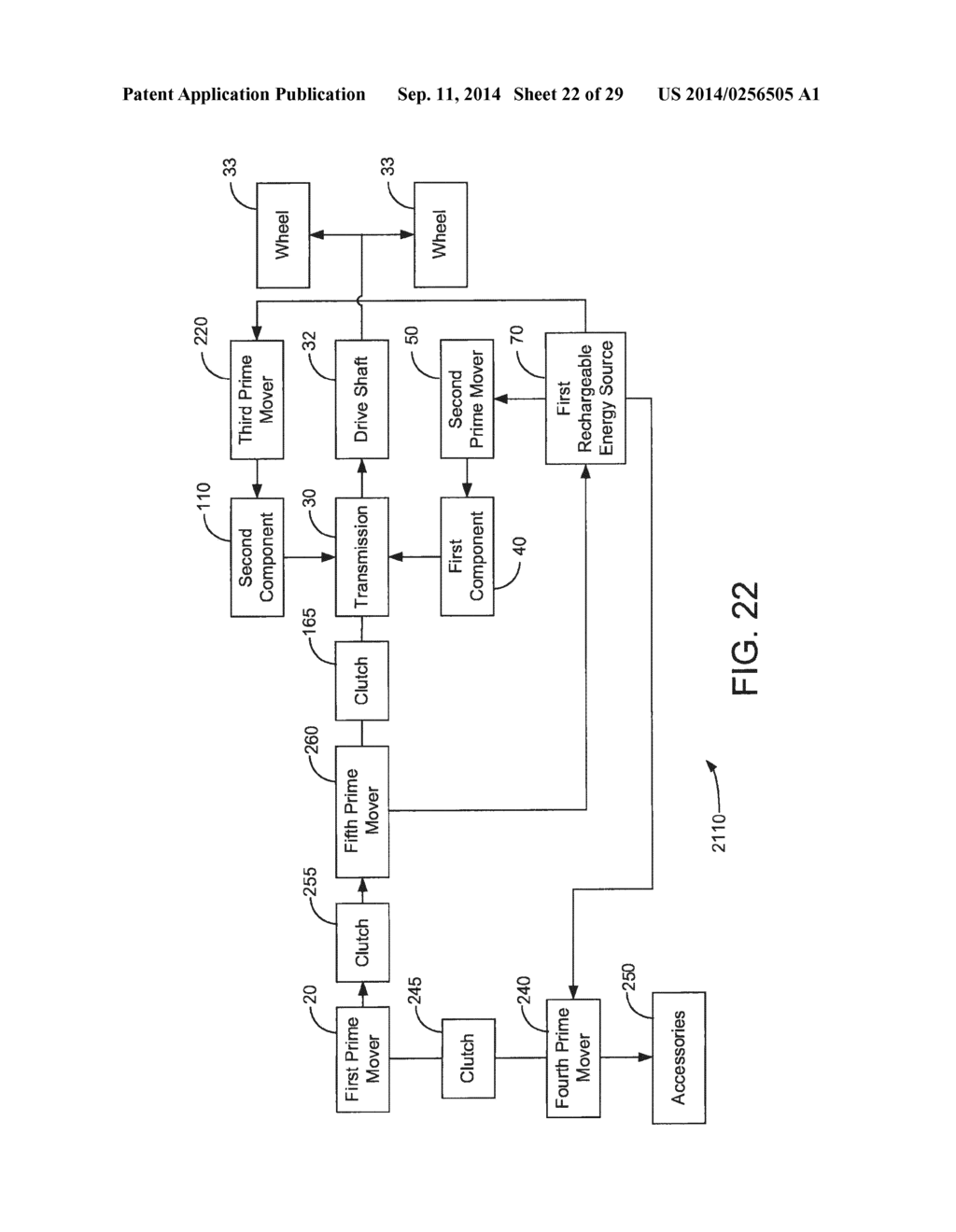 HYBRID VEHICLE DRIVE SYSTEM AND METHOD AND IDLE REDUCTION SYSTEM AND     METHOD - diagram, schematic, and image 23