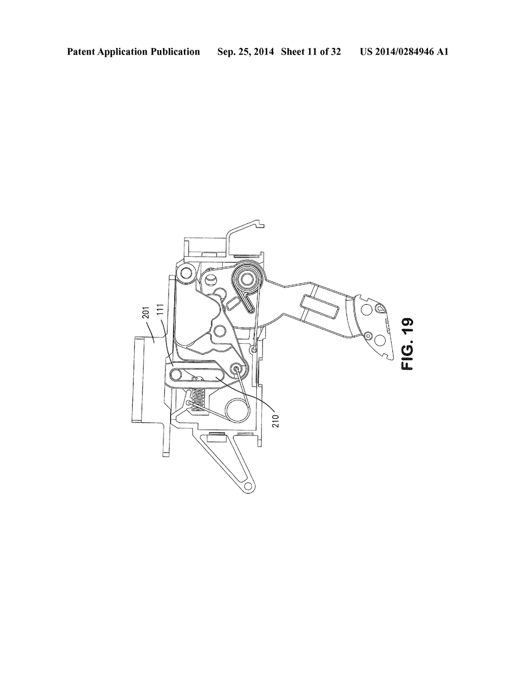 LEVER ACTUATED COMPRESSION LATCH - diagram, schematic, and image 12