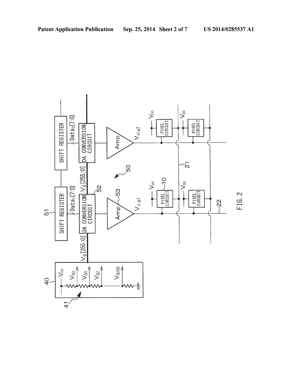 Gray Scale Voltage Generating Circuit And Display Unit Diagram Schematic Image 03