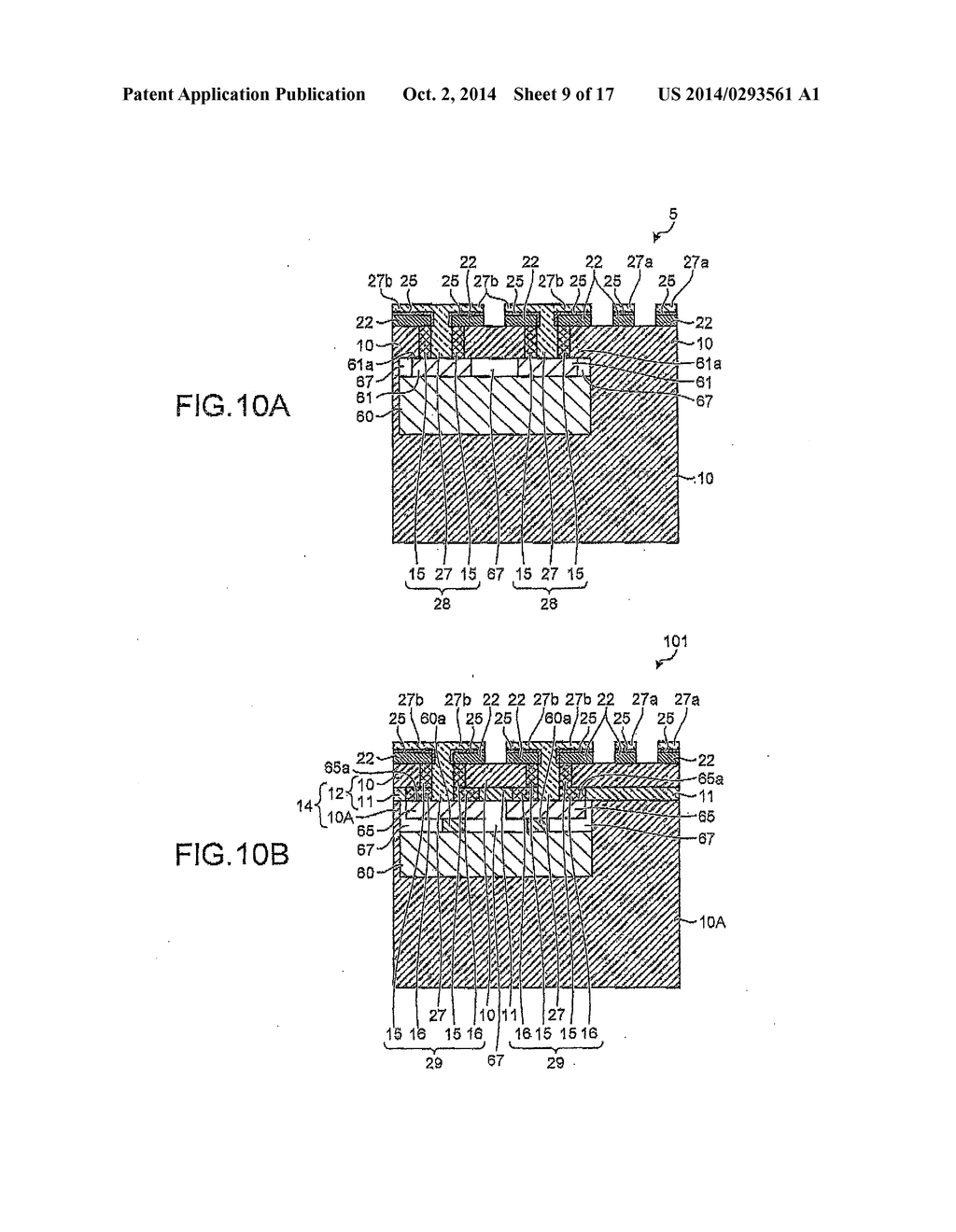 Wiring Board Electronic Component Embedded Substrate Method Of Manufacturing And