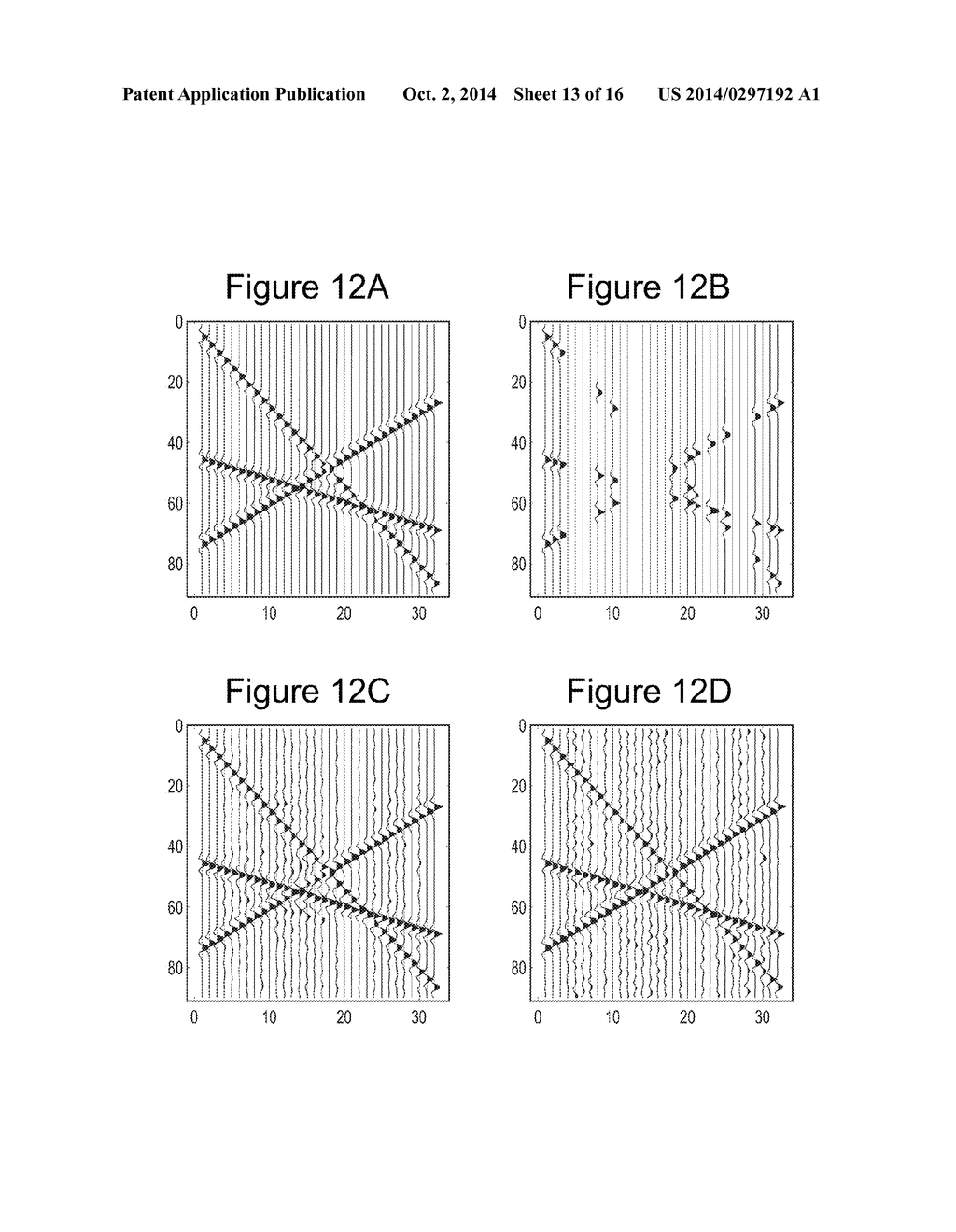 SYSTEM AND METHOD FOR INTERPOLATING SEISMIC DATA BY MATCHING PURSUIT IN     FOURIER TRANSFORM - diagram, schematic, and image 14