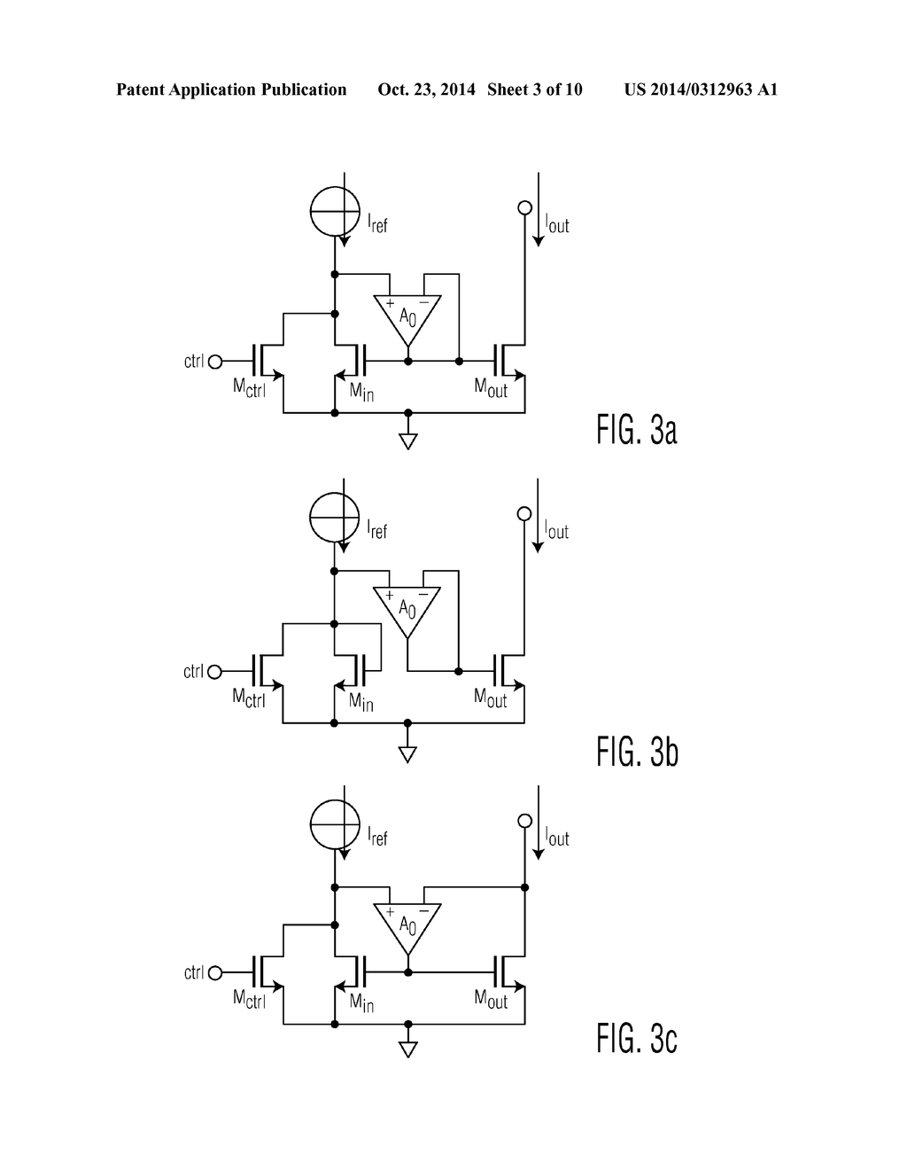 SWITCHABLE CURRENT SOURCE CIRCUIT AND METHOD - diagram, schematic ...