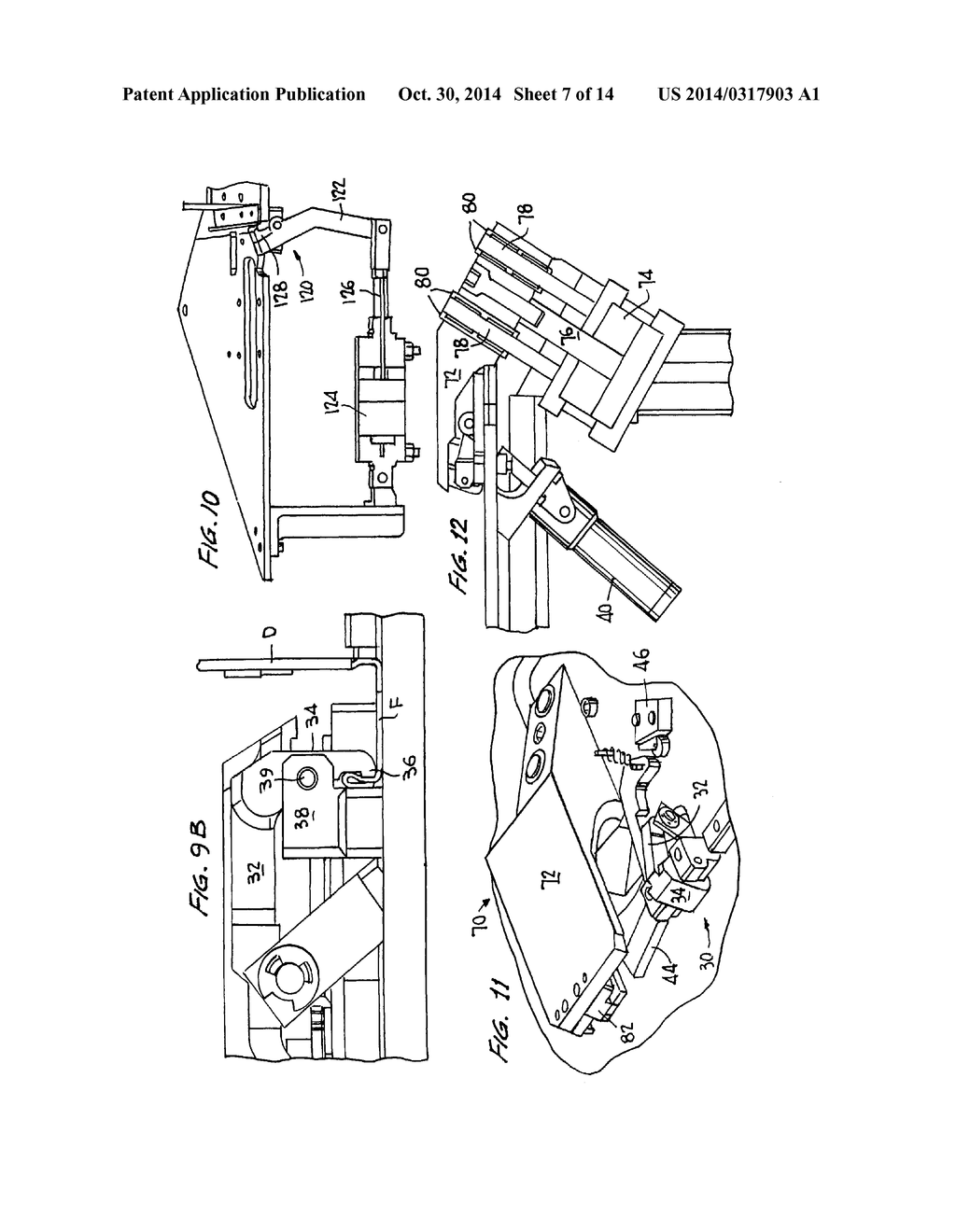 Apparatus And Method For Placement Of Angle Plates In