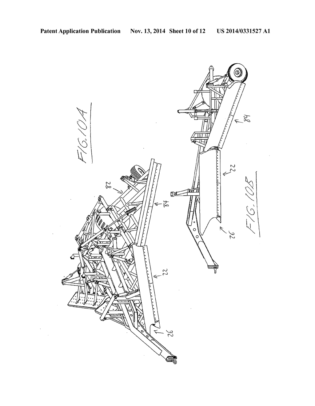 Ditching Apparatus with Divergent V-Wing Blade Configuration ...