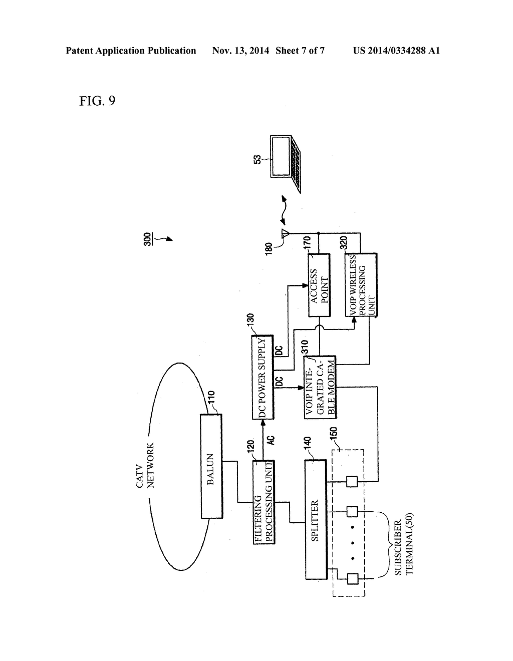 Wireless Tap Off Device Capable Of Providing Lan Service Diagram Schematic And Image 08