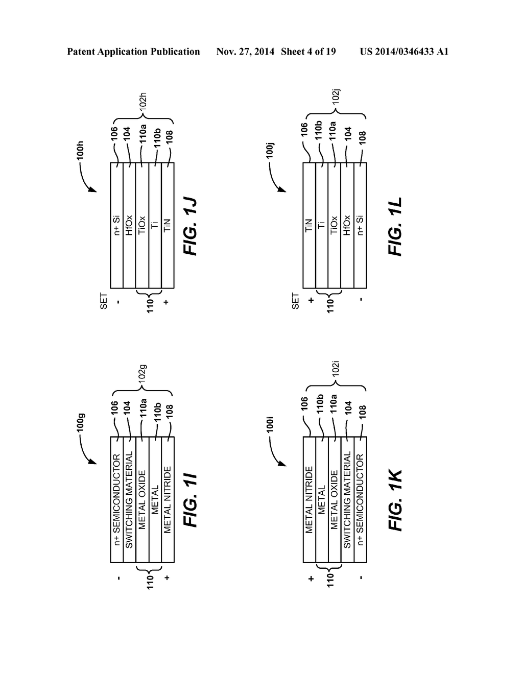 MULTI-LEVEL MEMORY ARRAYS WITH MEMORY CELLS THAT EMPLOY BIPOLAR STORAGE     ELEMENTS AND METHODS OF FORMING THE SAME - diagram, schematic, and image 05