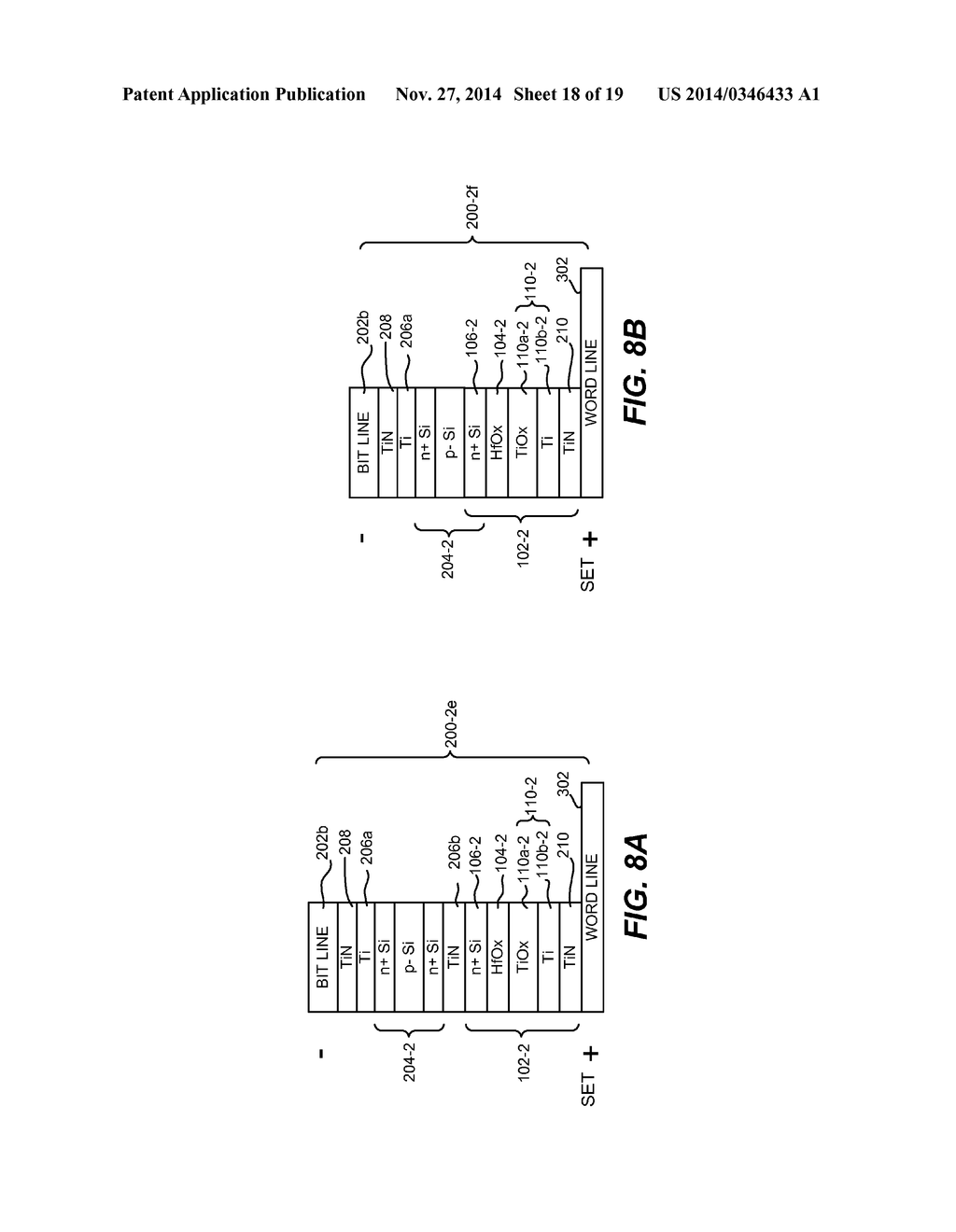 MULTI-LEVEL MEMORY ARRAYS WITH MEMORY CELLS THAT EMPLOY BIPOLAR STORAGE     ELEMENTS AND METHODS OF FORMING THE SAME - diagram, schematic, and image 19