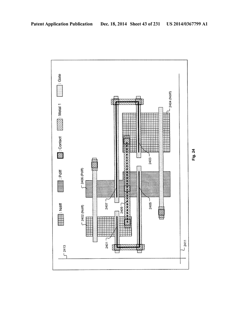Semiconductor Chip Including Digital Logic Circuit At Circuits Using Gates Least Nine Linear Shaped Conductive Structures Collectively Forming Gate Electrodes Of