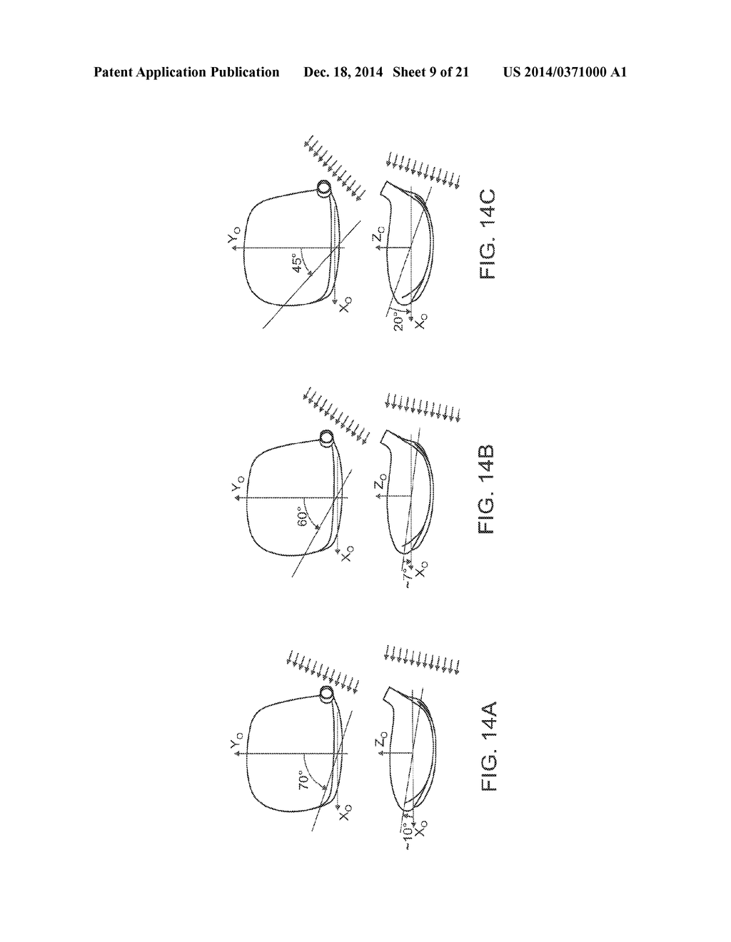 GOLF CLUB ASSEMBLY AND GOLF CLUB WITH AERODYNAMIC FEATURES - diagram, schematic, and image 10