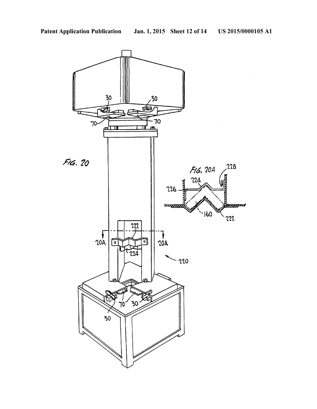 Apparatus And Method For Placement Of Angle Plates In Transverse
