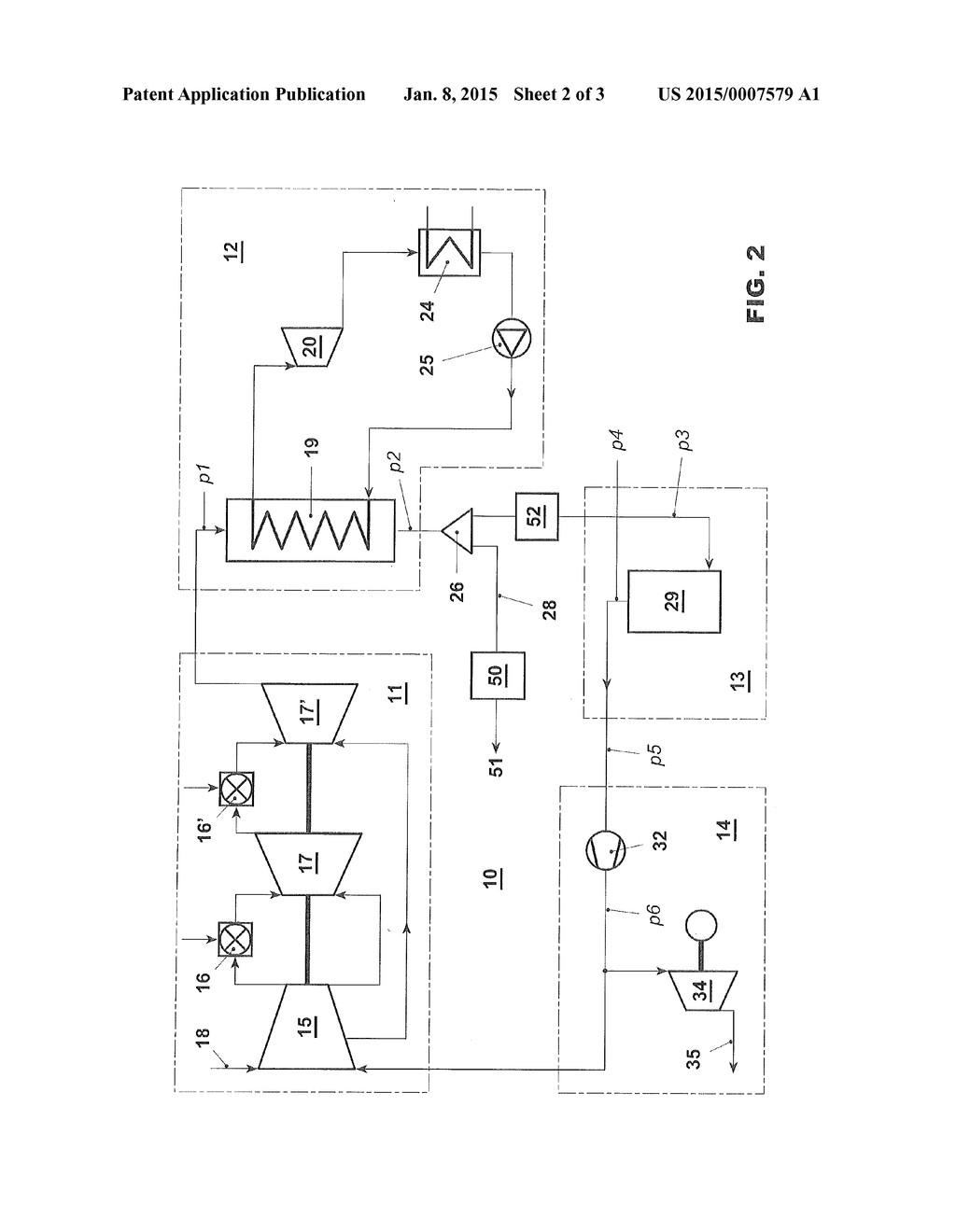 Method For Operating A Combined Cycle Power Plant And Diagram Using Such Schematic Image 03